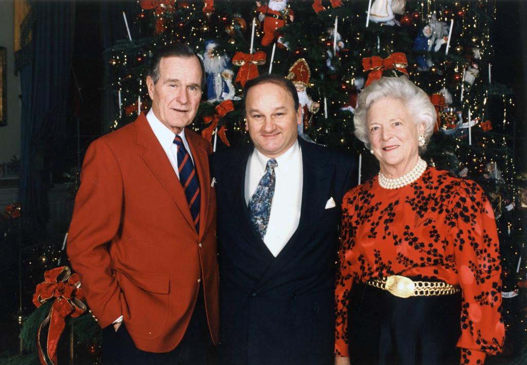 George And Barbara Bush White House