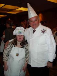 "Chef Roland has been Event Chair since 2007 of the annual ""Life is Sweet"" fundraiser for Best Buddies, Virginia"